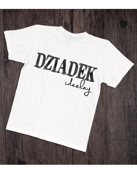 Koszulka dla dziadka Dziadek idealny