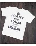 Koszulka dla dziadka I can't keep calm