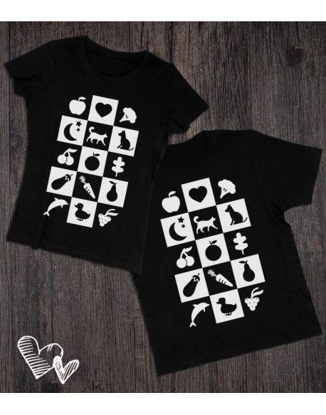 Koszulki dla mamy i taty Popatrz maluszku