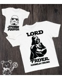 Koszulka i body/koszulka dla taty i dziecka Star Wars