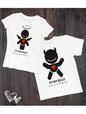 Koszulki Aniołek Diabełek