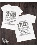 Koszulki na rocznicę ślubu