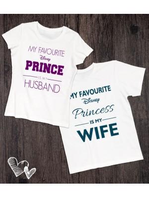 Koszulki dla pary My favourite Disney Prince/Princess