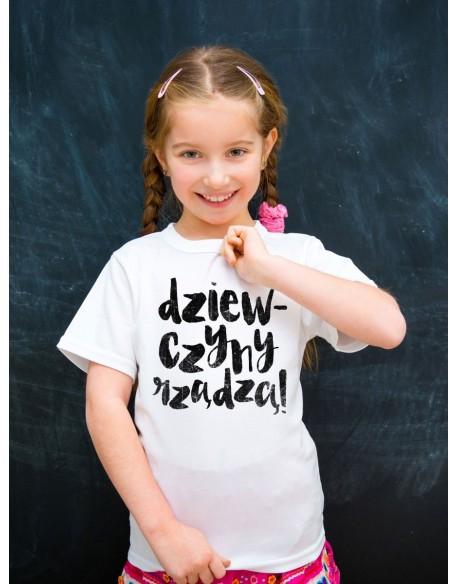 Body/koszulka z nadrukiem Dziewczyny rządzą