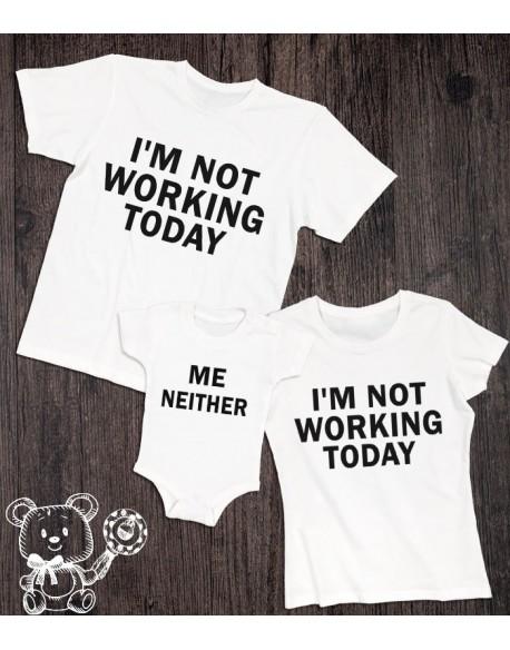 Zestaw dla rodziny Not working