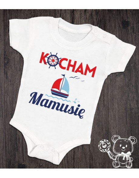 Body/koszulka Kocham Mamusię