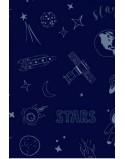 Koszulka Tata mistrz świata Kosmos szczegół