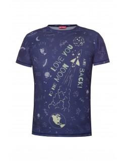 Koszulka Tata mistrz świata Kosmos