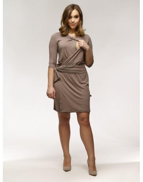 Elegancka sukienka do karmienia piersią MAYDAY