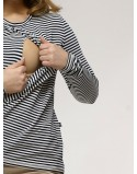 Bluzka do karmienia piersią BASICALLY MOMMY