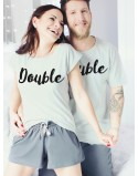 Piżamy dla pary Double Trouble