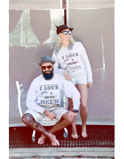 Bluzy dla par Love you more