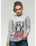 Bluza do karmienia piersią I produce milk What's your superpower