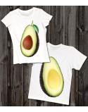 Koszulki dla pary Avocado