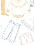 Koszulka dla taty i malucha Ciało człowieka i ubrania
