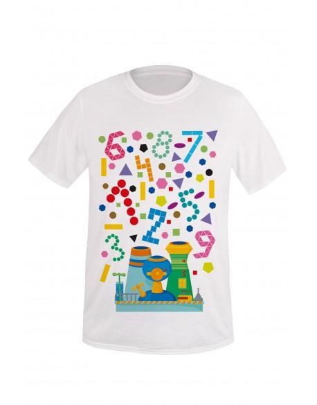 Koszulka dla taty i malucha Wyrzutnia kształtów i kolorów