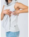 Sportowy top do karmienia piersią ACTIVE
