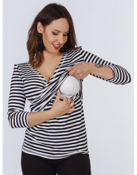 Bluzka ciążowa i do karmienia piersią SOSEXY