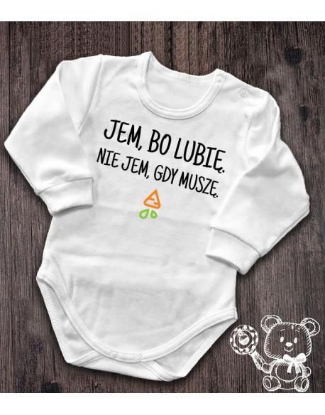 Body/koszulka Jem bo lubię