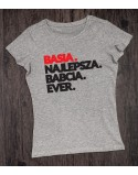 Koszulki dla babci i dziadka z imionami Najlepszy Dziadek Babcia Ever