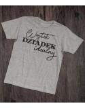 Koszulka z imieniem dla dziadka Dziadek idealny