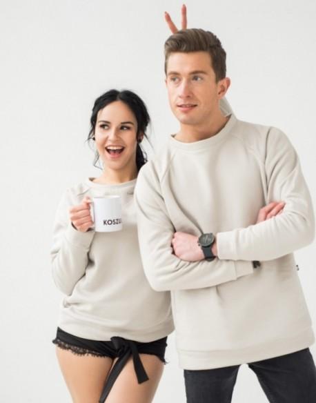 Bluzy dla pary jasne