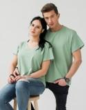 Koszulki dla par Pale Green
