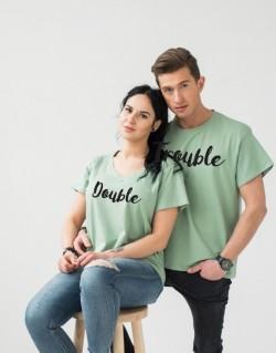 Koszulki dla par PL Double Trouble