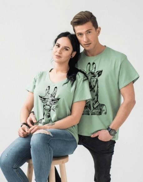 Koszulki dla par PL Żyrafy