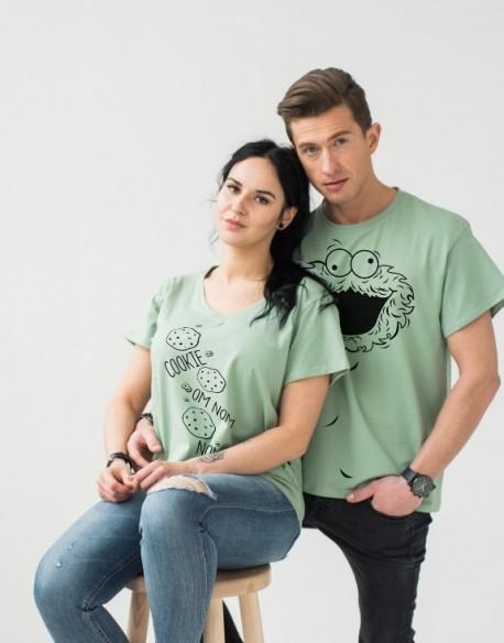 Koszulki dla par PL Cookie Monster