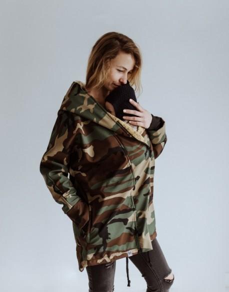 Ocieplany płaszcz do noszenia w chuście/nosidle MORO