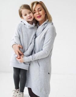 Sukienka Little Freeday Grey