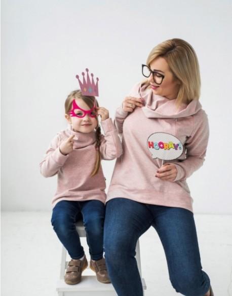 Bluzy dla mamy i córki Hygge Fluo