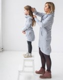 Sukienki dla mamy i córki Freeday Grey