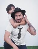 Koszulka i body/koszulka dla taty i dziecka Krawaty