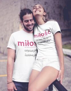 Koszulki dla pary Miłość
