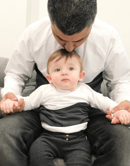 Takie same bluzy rodzic dziecko
