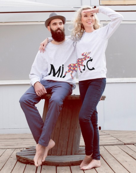 Bluzy dla pary PL MiŁOŚć