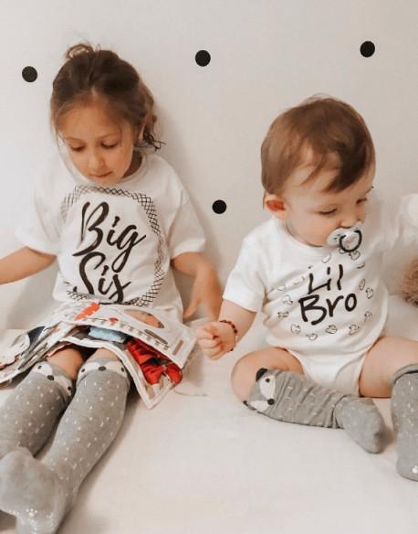 Zestaw dla rodzeństwa Big Sis Lil Bro