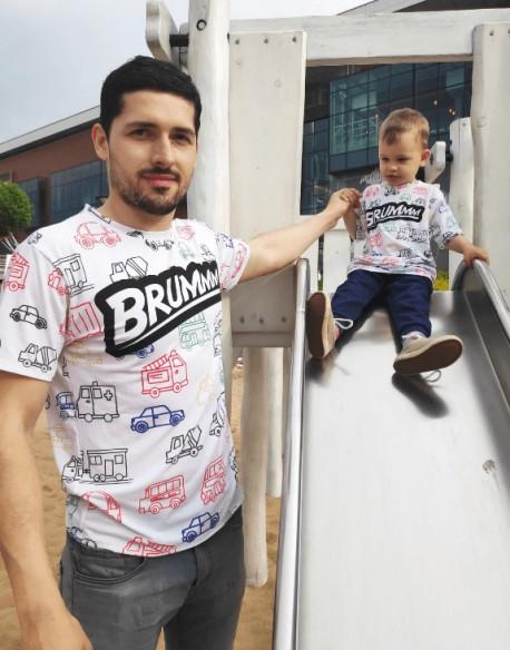 Koszulka dla taty Brum fullprint PL
