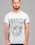 Koszulka dla taty Instrukcja zakładania pieluchy