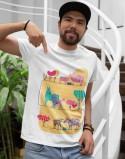Koszulka dla taty i malucha Zwierzątka na farmie