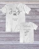 Koszulka i body/koszulka dla taty i syna Już idę