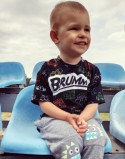 Koszulka dla dziecka Brum Black PL