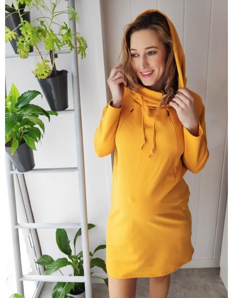 OUTLET/Sukienka do karmienia piersią i ciążowa Mother:hood