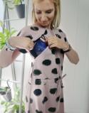Sukienka do karmienia piersią i ciążowa SOCOOL thedot