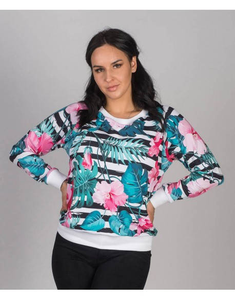 Bluza do karmienia piersia Color Power Jungle