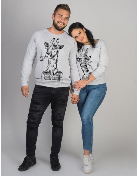 Bluzy dla pary PL Żyrafy