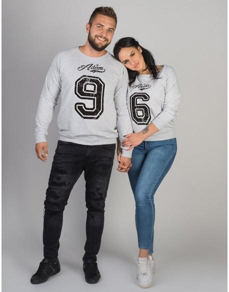 Bluzy dla pary PL z Waszymi imionami