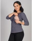 Bluzka do karmienia piersią i ciążowa Sosexy Dots